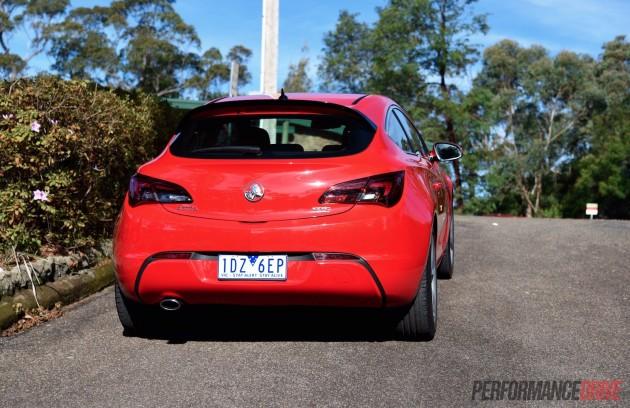 2015 Holden Astra GTC Sport-taillights