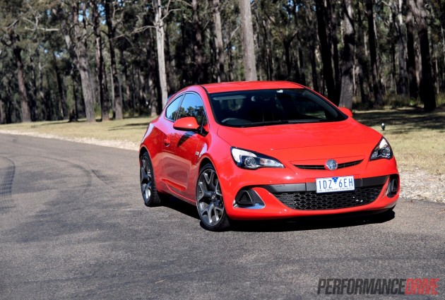 2015 Holden Astra VXR-headlights