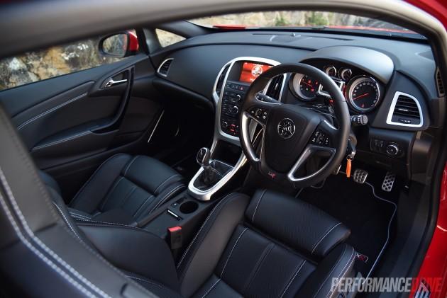 2015 Holden Astra VXR-interior