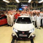 New Honda Civic Type R goes into production at UK plant
