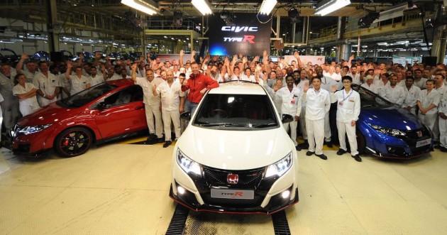 2015 Honda Civic Type R-production