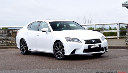 2015 Lexus GS 450h F Sport review (video)