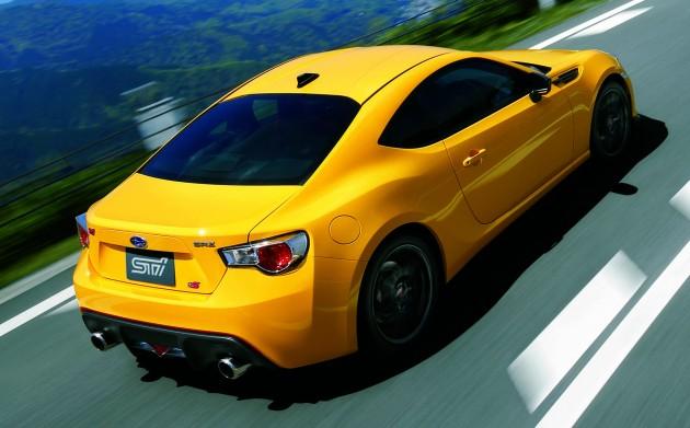 2015 Subaru BRZ tS STI-rear