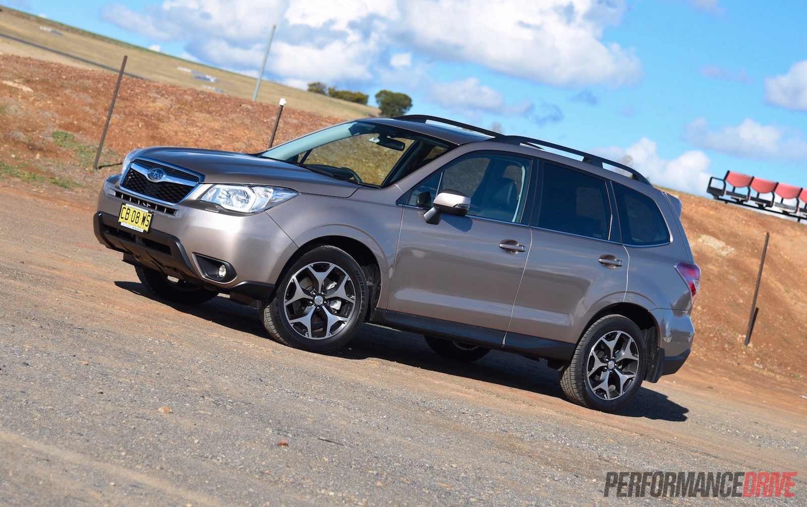 2015 Subaru Forester 2 0D S review video