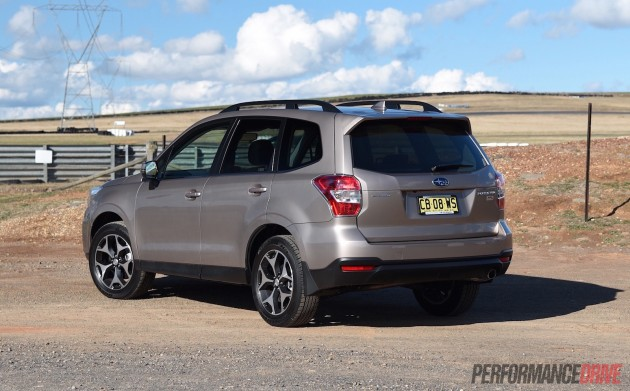 2015 Subaru Forester 2.0D-S-rear