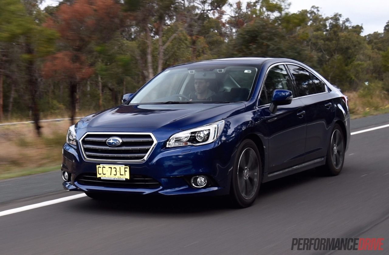 Subaru Legacy 3.6R >> 2015 Subaru Liberty 3.6R review (video) | PerformanceDrive