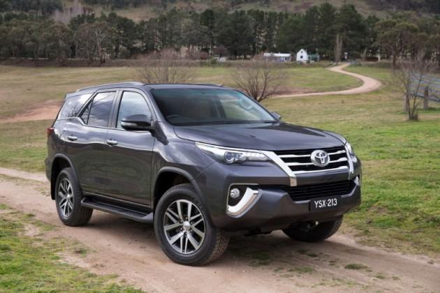 2015 Toyota Fortuner-Australia