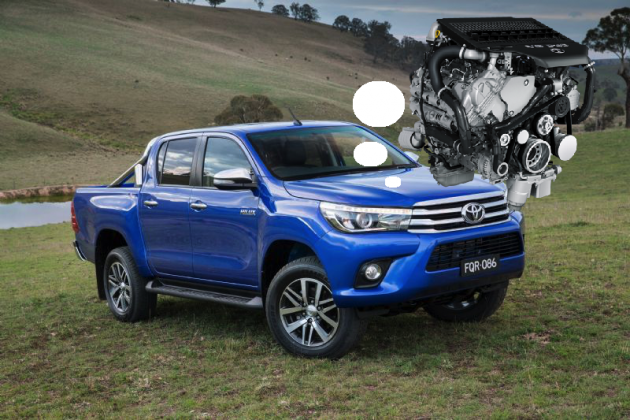 2015 Toyota HiLux-1VD-FTV