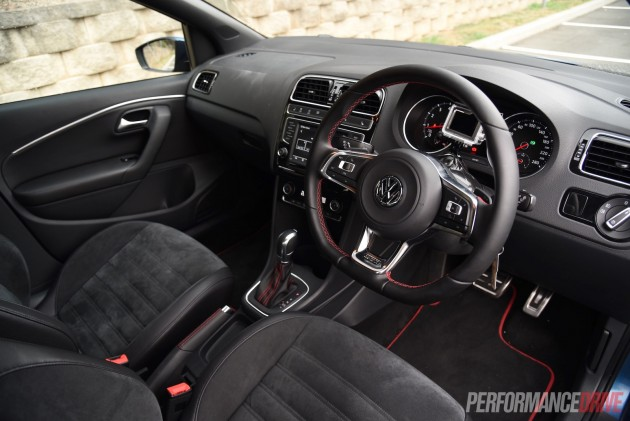2015 Volkswagen Polo GTI DSG-interior