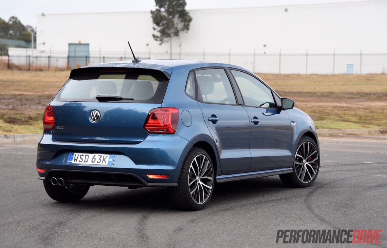 2015 volkswagen polo gti review track test video performancedrive. Black Bedroom Furniture Sets. Home Design Ideas