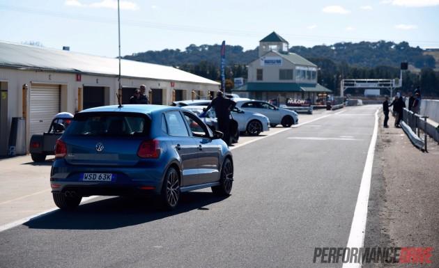 2015 Volkswagen Polo GTI-pit lane