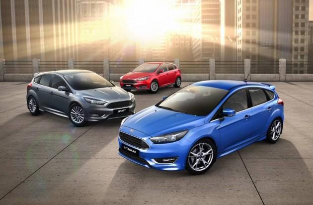 2016 Ford Focus-Australian range