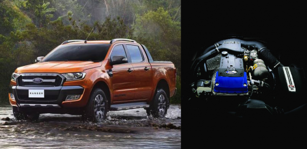 2016 Ford Ranger-FPV F6 engine