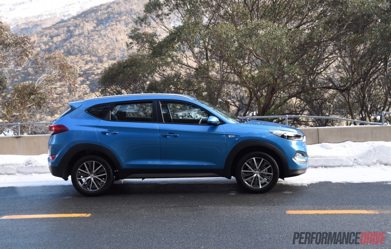 2015 hyundai tucson review australian launch video performancedrive. Black Bedroom Furniture Sets. Home Design Ideas