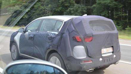 2016 Kia Sportage prototype spotted, to debut at Frankfurt show