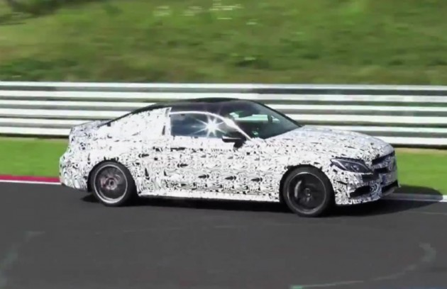 2016 Mercedes-Benz C 63 AMG Coupe prototype