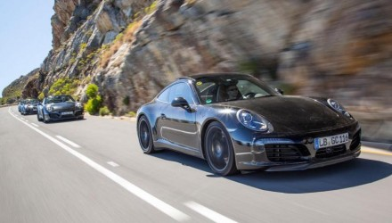 Porsche releases images of 2016 911 '991.2', previews mild facelift