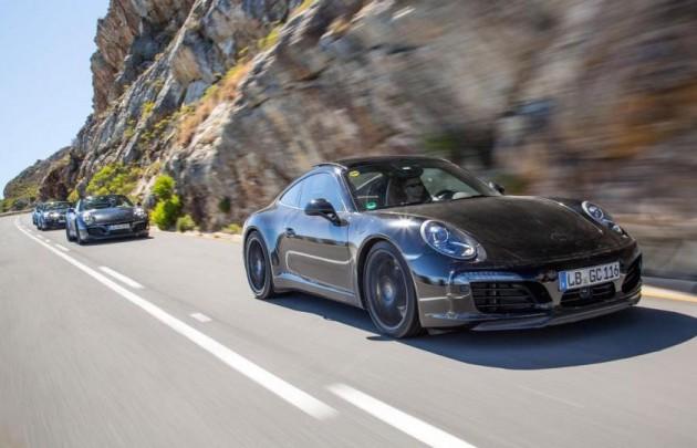 2016 Porsche 911 prototypes