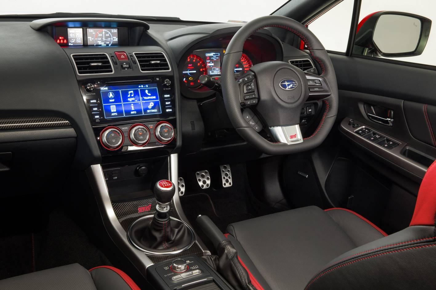 2016 Subaru WRX STI Interior