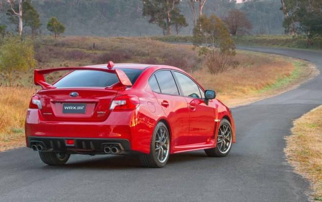 2016 Subaru WRX STI-rear