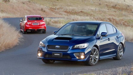 2016 Subaru WRX & STI on sale in Australia from $38,990