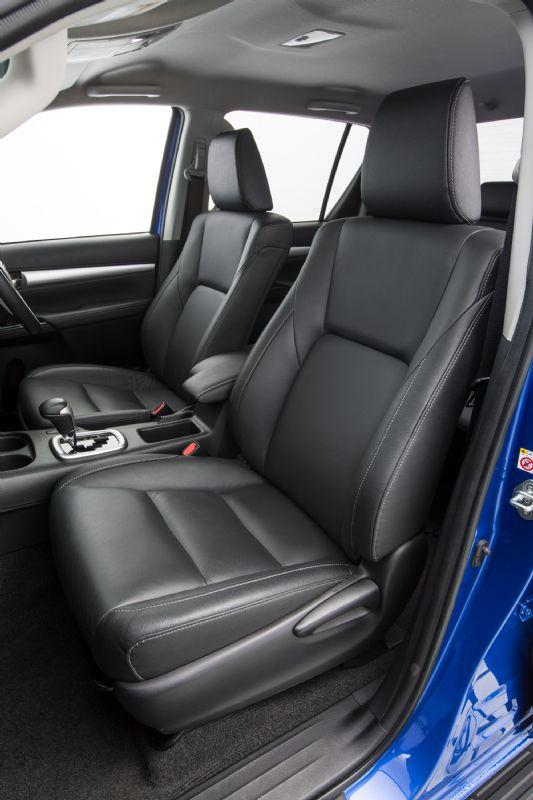 2016 Toyota HiLux interior revealed, on sale in Australia ...
