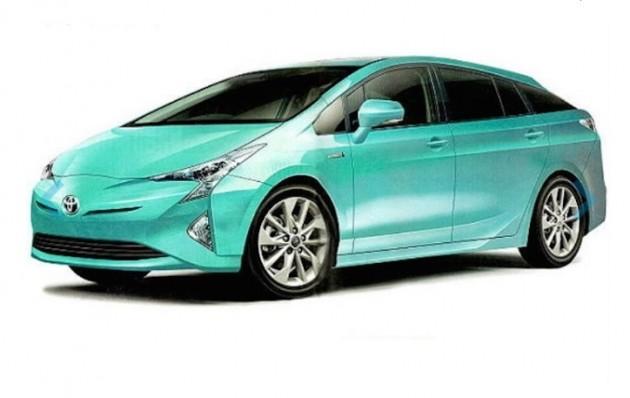 2016 Toyota Prius render