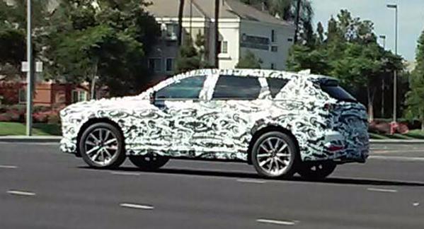 2017 Mazda CX-9 prototype-rear