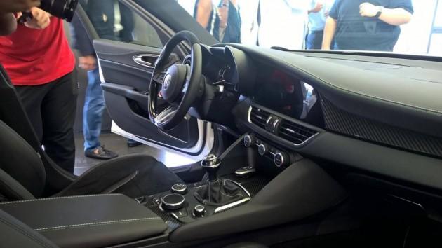 Alfa Romeo Giulia-interior