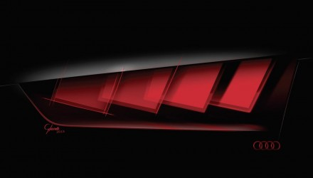 Audi C-BEV concept previews new OLED lighting technology