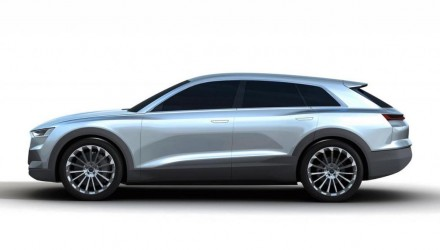 Is this the Q6-previewing Audi C-BEV concept?