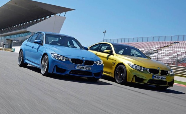 BMW M3 and M4