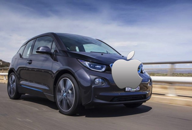 BMW i3 Apple iCar