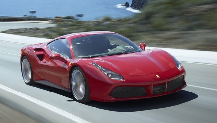 Ferrari 488 GTB on sale in Australia from $469,888
