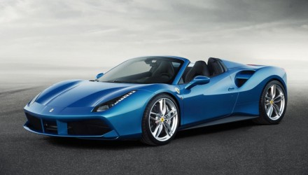 Ferrari 488 Spider revealed; lighter, more powerful than 458 Spider