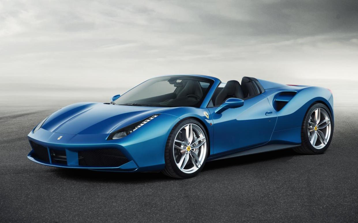 Ferrari 488 Spider revealed; lighter, more powerful than ...