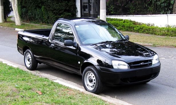 Ford Courier-Brazil