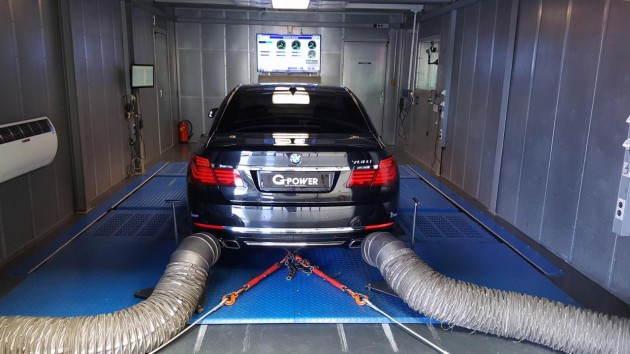 G-Power BMW 760i-dyno