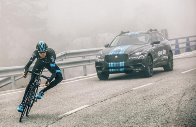 Jaguar F-Pace Team Sky Tour de France