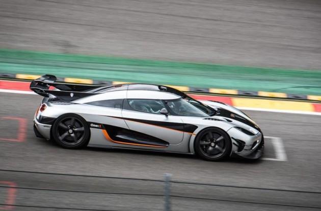 Koenigsegg One-1 Spa-Francorchamps