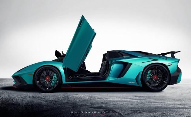 Lamborghini Aventador SuperVeloce Roadster-side
