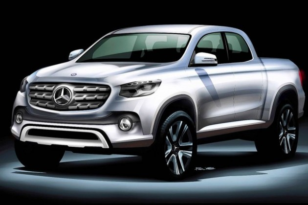 Mercedes-Benz-Pickup-sketch-concept