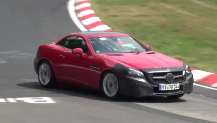 Video: Mercedes-Benz SLC prototype spotted, SLK replacement