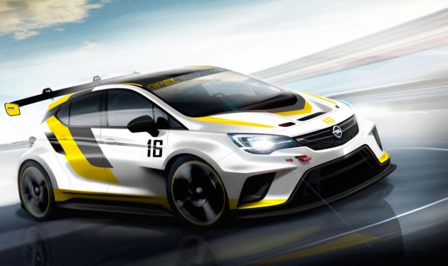 Opel Astra TCR preview