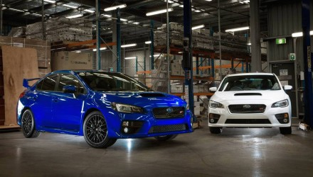 Subaru WRX STI NR4 Spec on sale in Australia, motorsport only