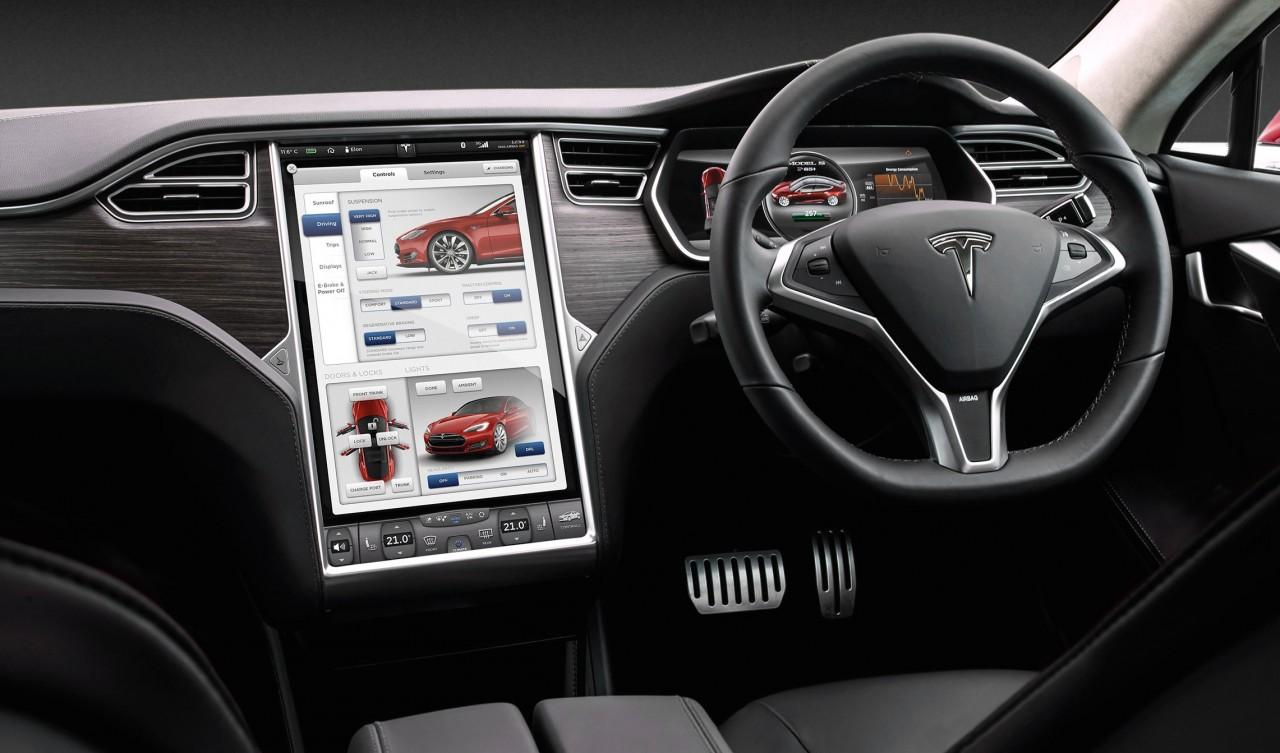 Tesla model s updated for australia p85d ludicrous pack for Tesla model s interieur