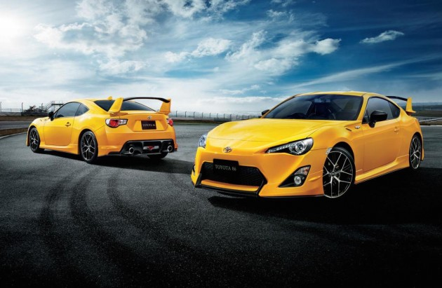 Toyota 86 Yellow Limited edition