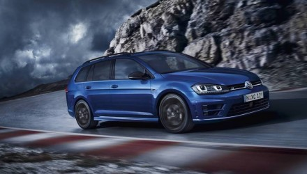 Volkswagen Golf R Wagon on sale in Australia from $58,990