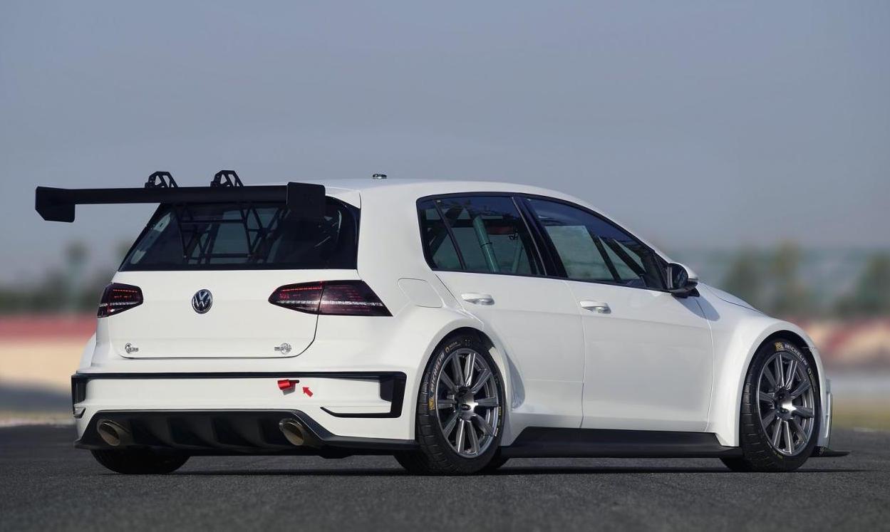 Volkswagen Motorsport Unveils Golf Race Concept For Tcr