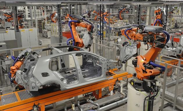 Volkswagen Golf production